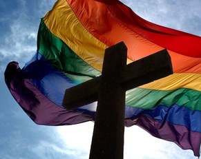 gay flag church
